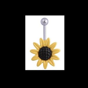 barbell Navel Belly Button Ring Surgical Steel.NWT